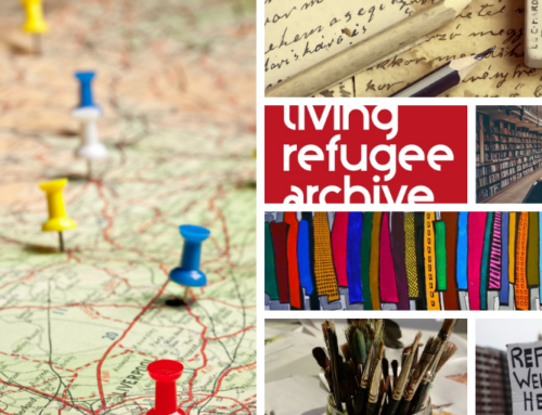 Living Refugee Archive Newsletter, 15 April 2019