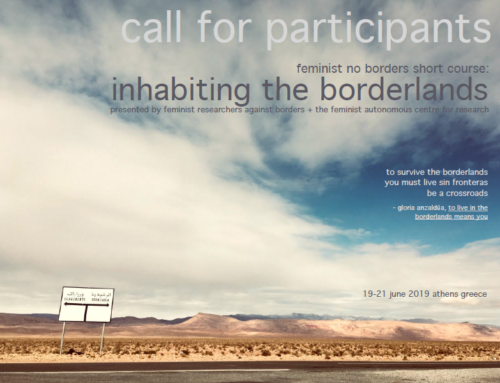 Call for Participants: Feminist No Borders Short Course : Inhabiting the Borderlands