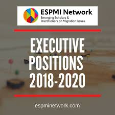 Call for Applications:  Join the ESPMI Network Executive! Deadline: September 2nd, 2018