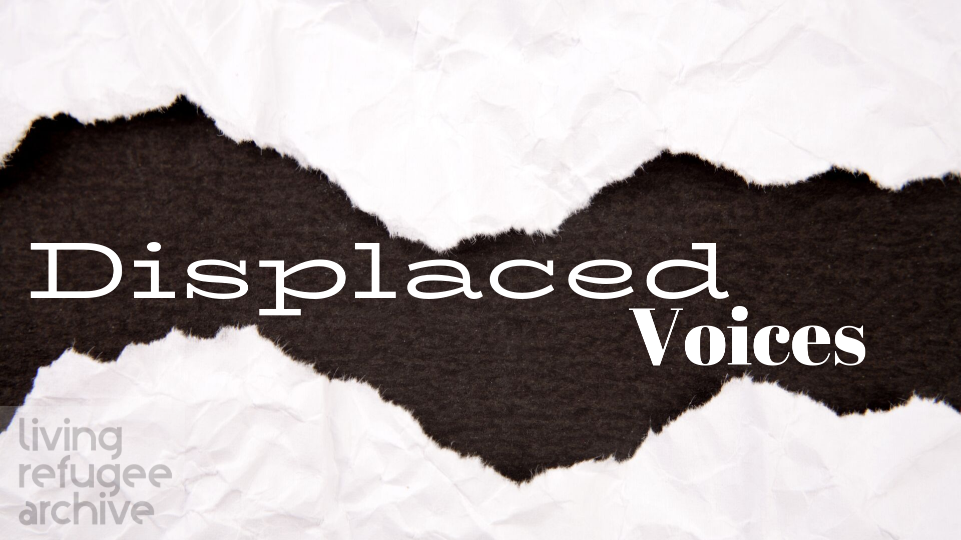 Launch and Call for Papers: Displaced Voices – A Journal of Archives, Migration and Cultural Heritage (Volume 1, Issue 1).